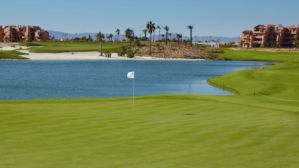 Golf Course Mar Menor Golf Course in Murcia