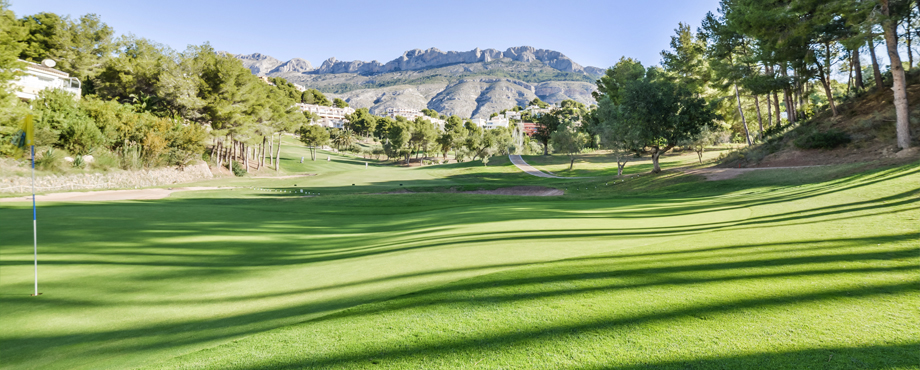 Golf Course Altea Club de Golf in Alicante